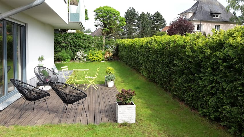 3bedroom apt with garden 10min walking city center - Luxembourg - Apartamento