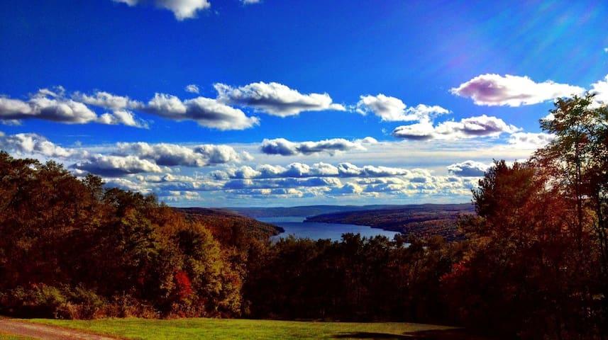 The Pinnacle-Breathtaking View of Keuka Lake