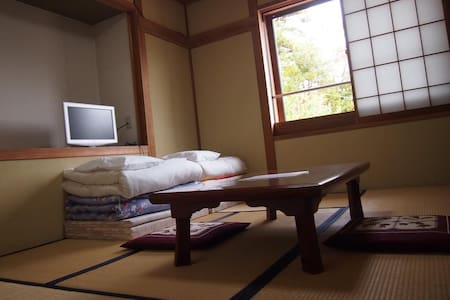 Japanese Style Room with Shared Bathroom 1 adult