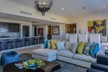 Main living room - open plan