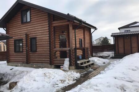 Дом-баня в клубном поселке