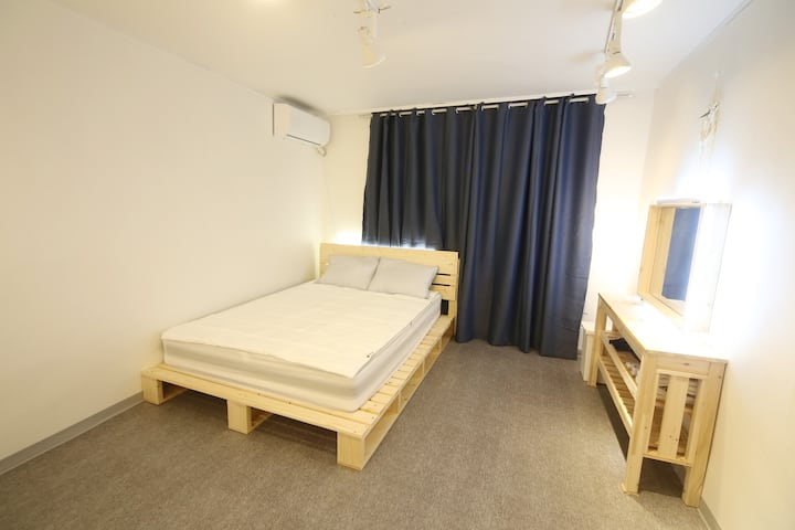 8★OZhouse★3min from hongdae station#private room