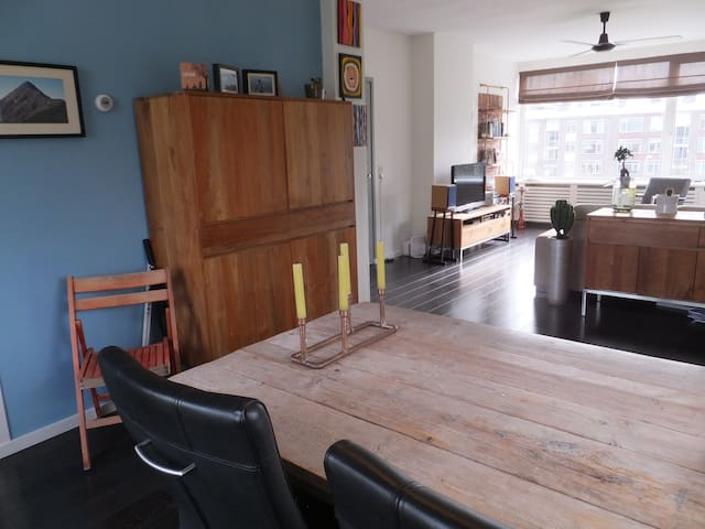 Bright appartment, 10min from The Hague Centre - Voorburg - Apartemen