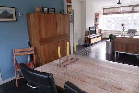 Bright appartment, 10min from The Hague Centre - Voorburg - Apartamento