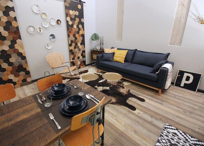Único y singular apartamento en Malasaña