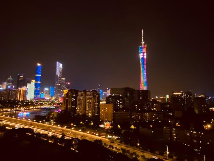 【塔畔】BLACK BERRY | 望广州塔|琶洲广交会|珠江新城|小蛮腰|长隆|美领馆