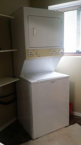 Laundry - Washer & Dryer
