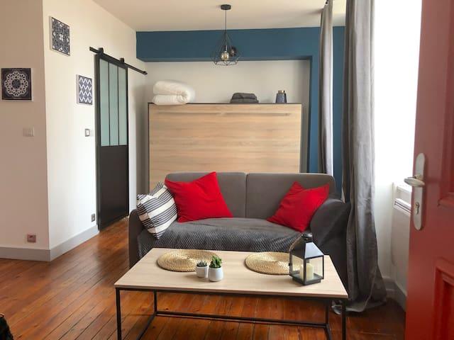 Studio hyper centre de La Rochelle - tout confort