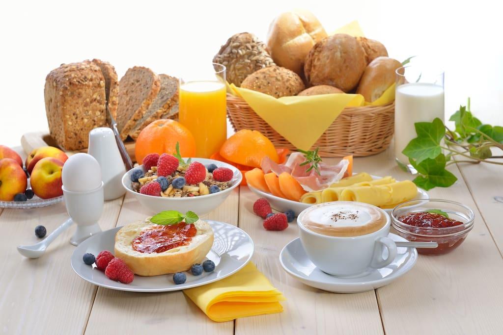 Exemplary breakfast