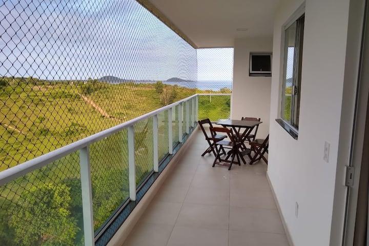 Apartamento NOVO e aconchegante na Praia do Morro