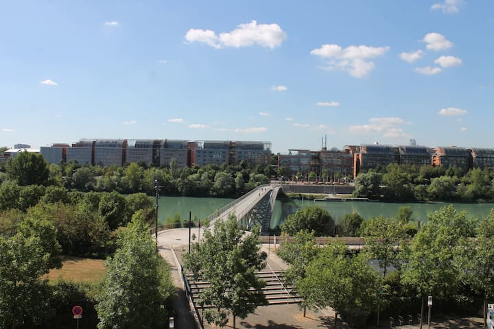 Loft avec vue, Parc - Cité Internationale Lyon - Caluire-et-Cuire - Loft