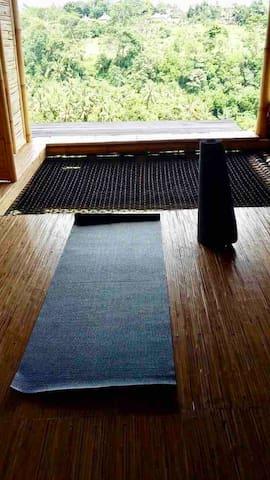 We provide 2 yoga mats!
