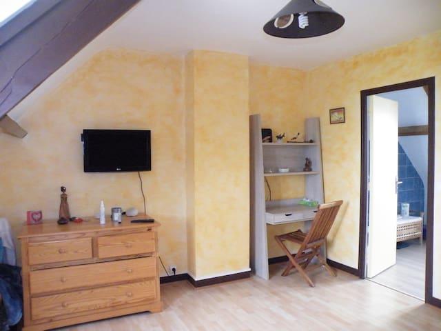 Chambre 16 m2 dans une villa - Gif-sur-Yvette - บ้าน