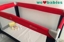 New cot for babies (under 15kg). Nueva cuna para bebés (menos de 15 kg)