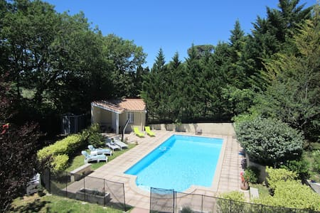 Quiet Villa  Large Swimming Pool Four-Star rating - Navès