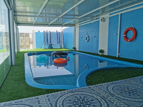 Fig House Villa, a heated swimming pool in JA.