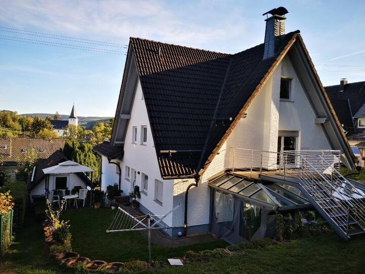 Ruhige Wohnung am Waldrand von Netphen: