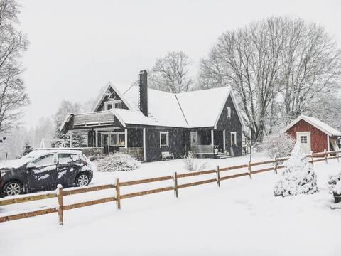 Storegården lägenhet (5 minuter från Isaberg)