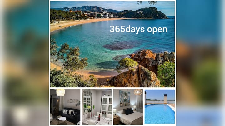 BEACH&POOL, your holiday home in Lloret 365days🌅