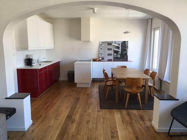 Spacious and bright studio in Gent