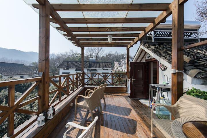 ★7号★二楼小窝-和杭州当地人一起居住在西湖美景中 - Hangzhou - Dům