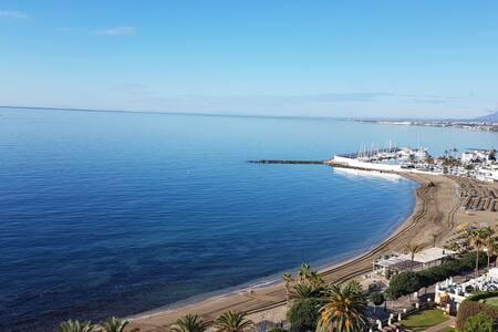 Pleno centro y en primera linea de playa