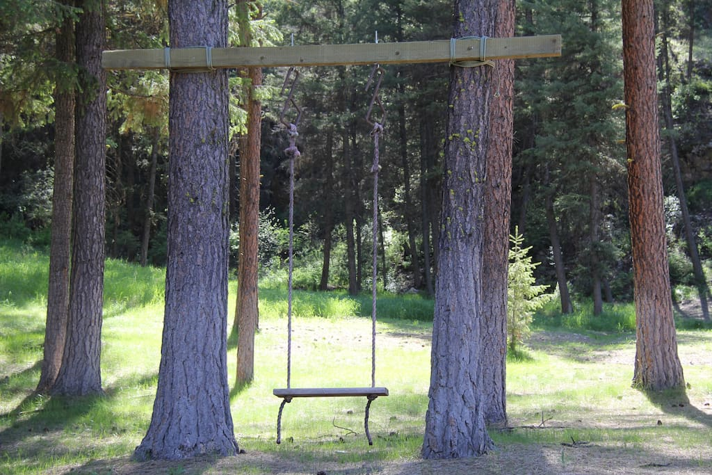 Even adults love this swing!