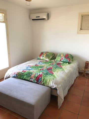 chambre lit 2 places 180*200