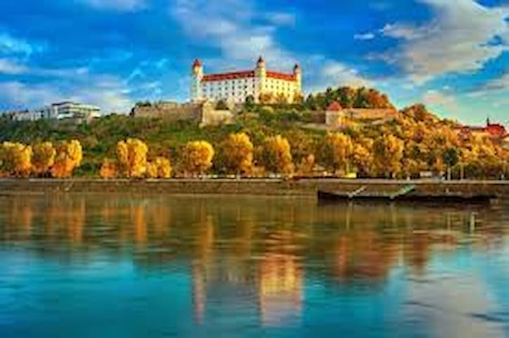 Bratislava - A pearl at the Danube