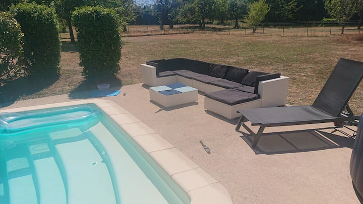 villa sv piscine spa détente