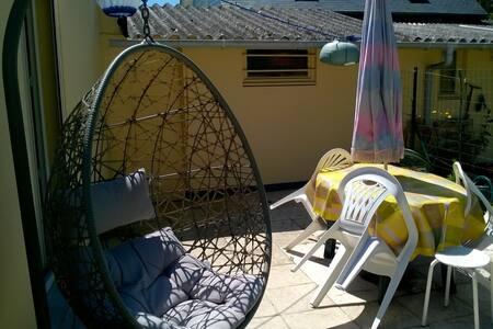 Maisonnette proche mer avec jardin - Fort-Mahon-Plage