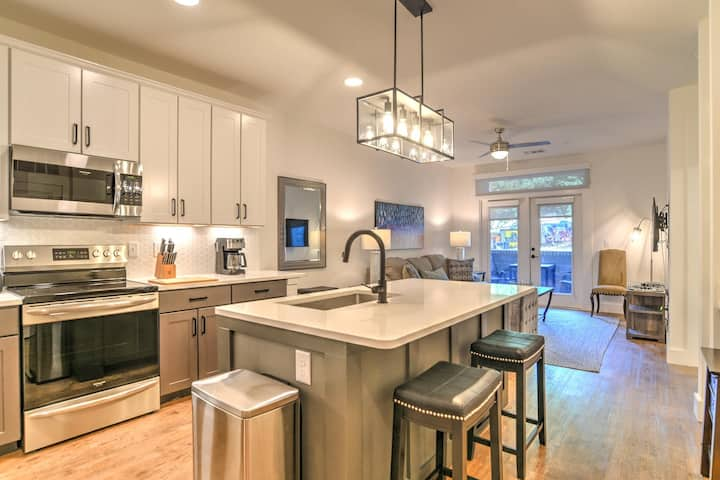 New luxury condo in heart of downtown Asheville~55 S. Market St.Condo #108