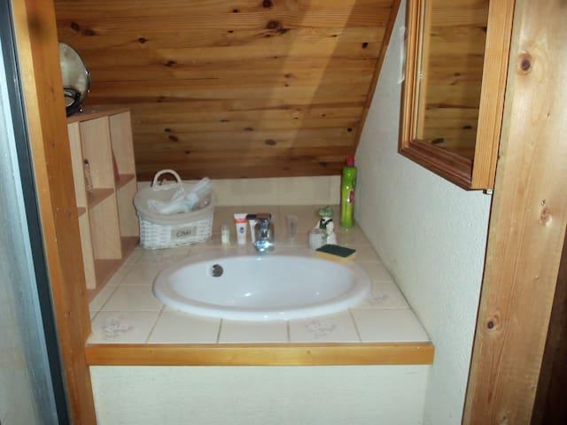 lavobo douche et toilettes