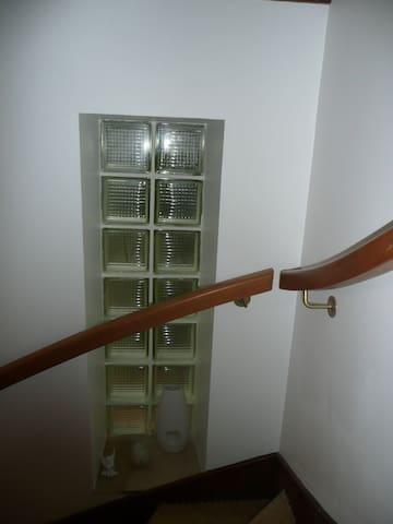 Entrée de la partie appartement