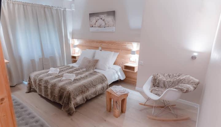 chambre double ou twin tout confort