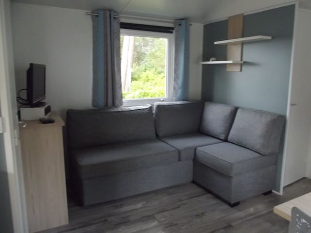 Mobil-home neuf 6 personnes  camping 4 étoiles