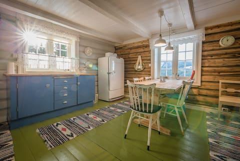 Unikt feriehus på småbruk nær Lillehammer