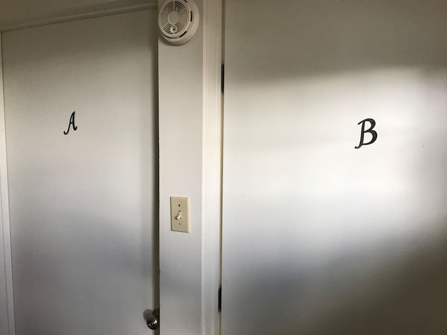 Separate unit for guests (B)