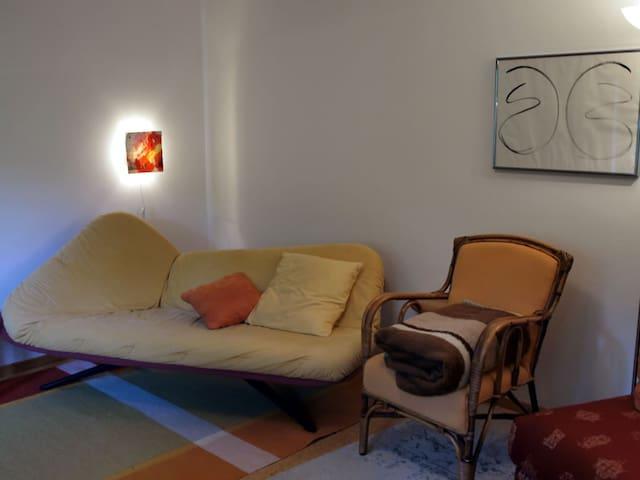 Schlafsofa Wohnzimmer