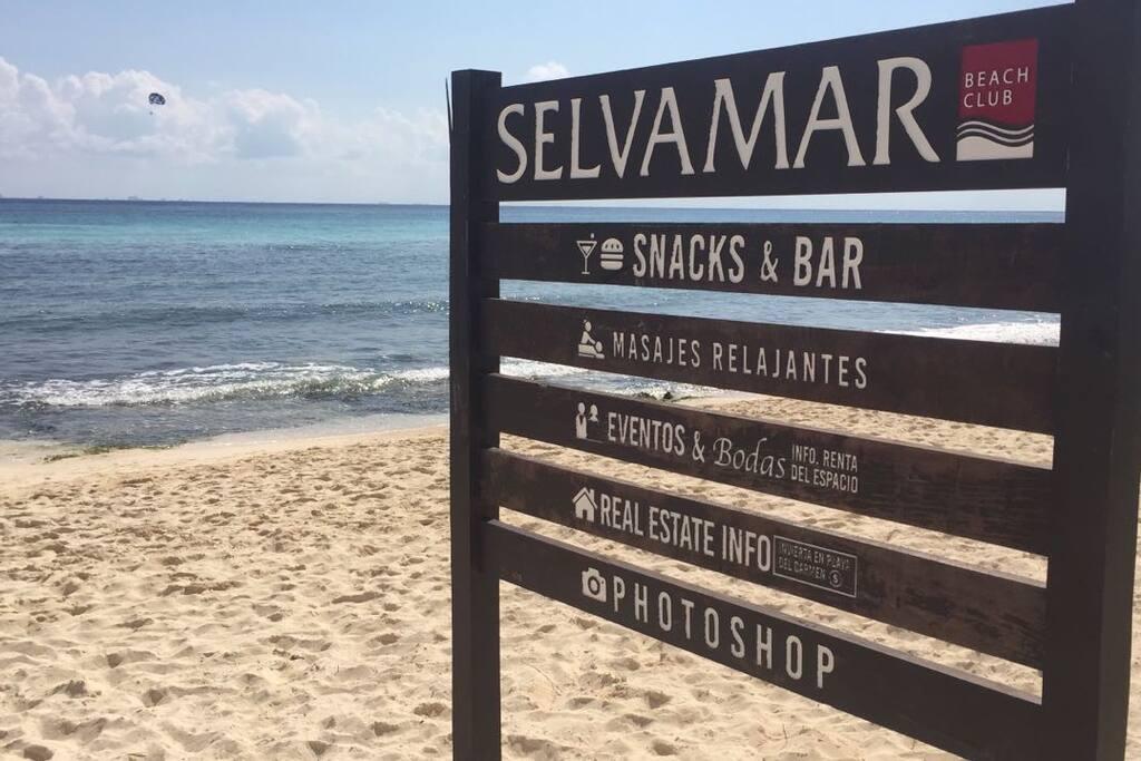 Disfruta del Mar con todas las comodidades y la gastronomía del Club de Playa