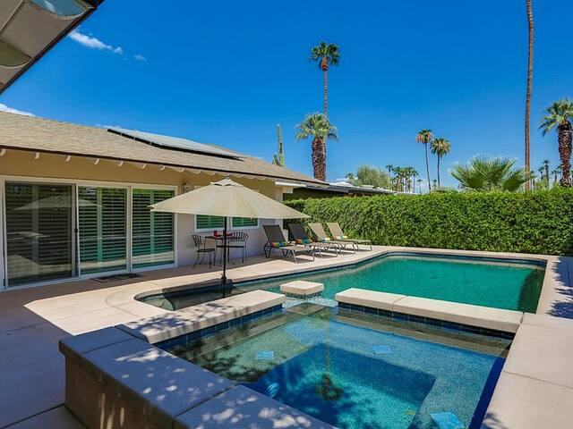 A Sunny Place- 3BR with huge pool and spa! - Rancho Mirage - Hus