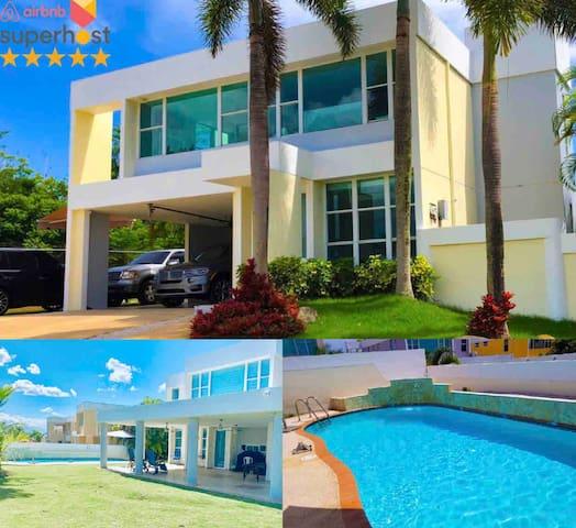Luxury@Brisas with Pool Between Dorado and SJ
