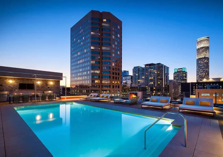 ❤☺DTLA warm 1B1B APT - Pool close☺❤