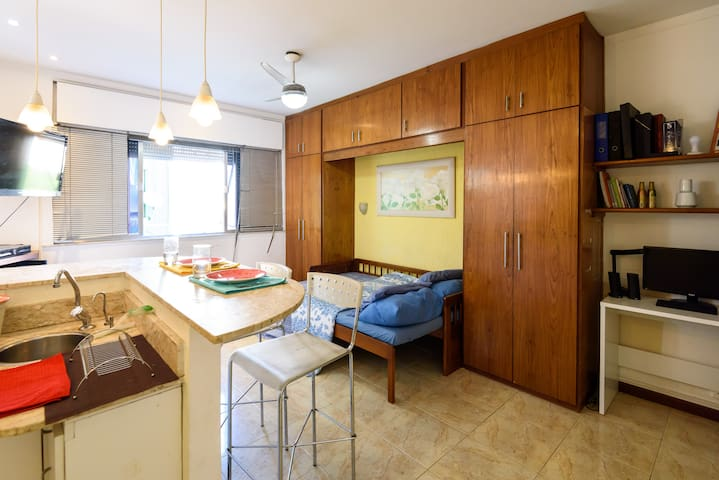 Flat conjugado na Lapa - Rio de Janeiro - Apartemen