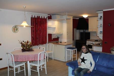 Splendido appartamento in ValdiSole - Appartement