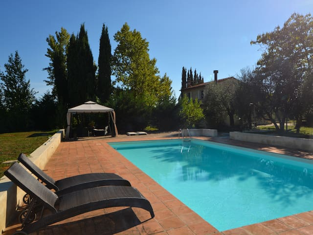 Refurbished charming country house with pool - Colle di Val d'Elsa - Haus