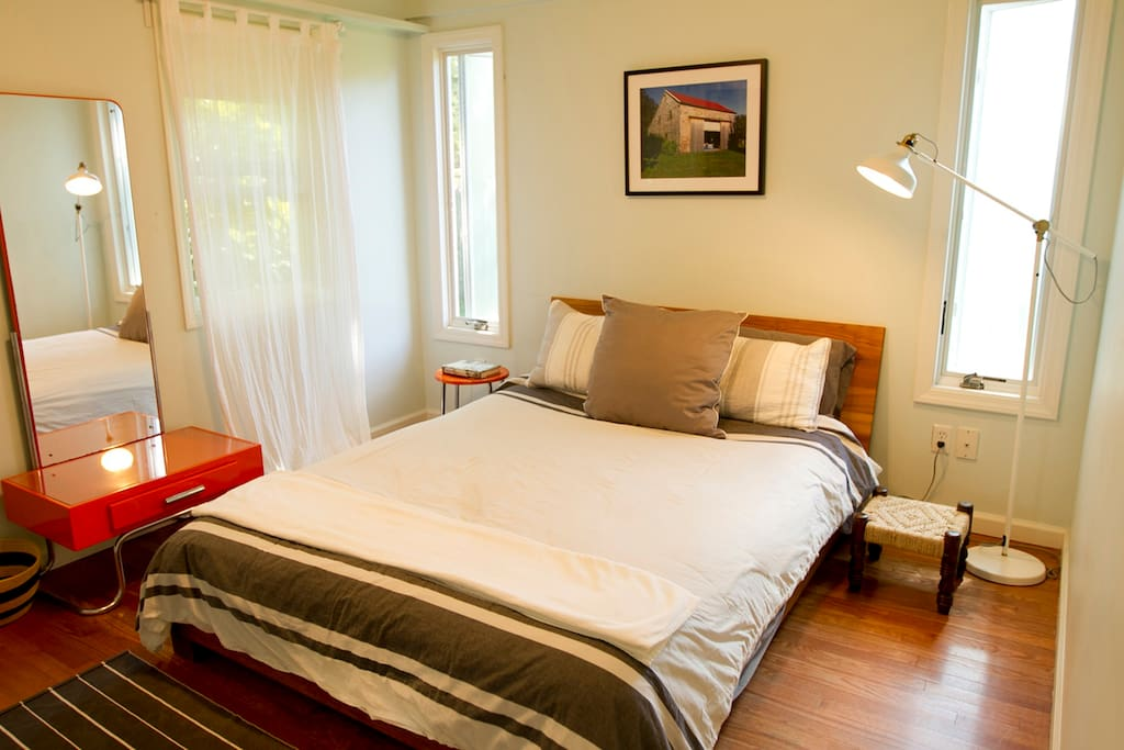 Master Queen Bedroom with attached bathroom