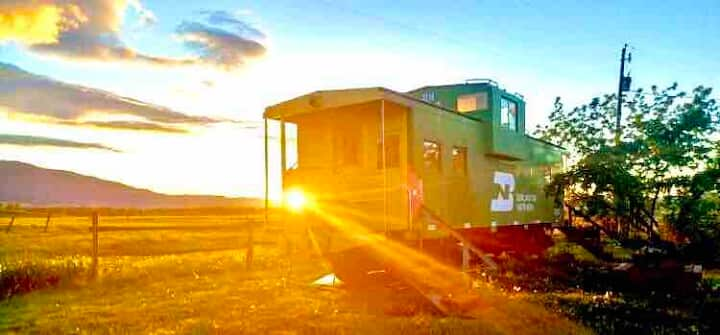 The Depot - Stay in a real Caboose!