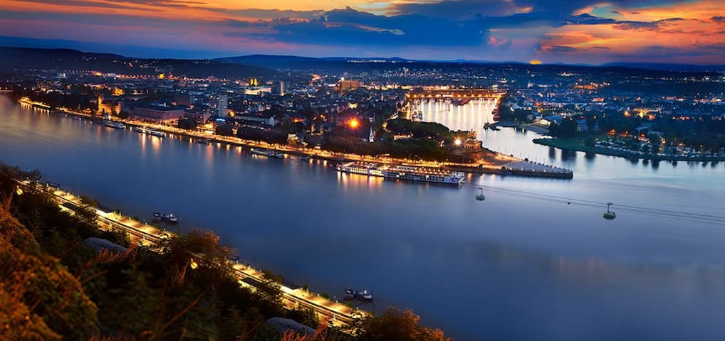 4th floor city Koblenz
