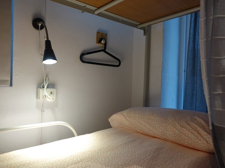 可住1~4人/共用衛浴/近捷運士林夜市/4 beds private shared bathroom